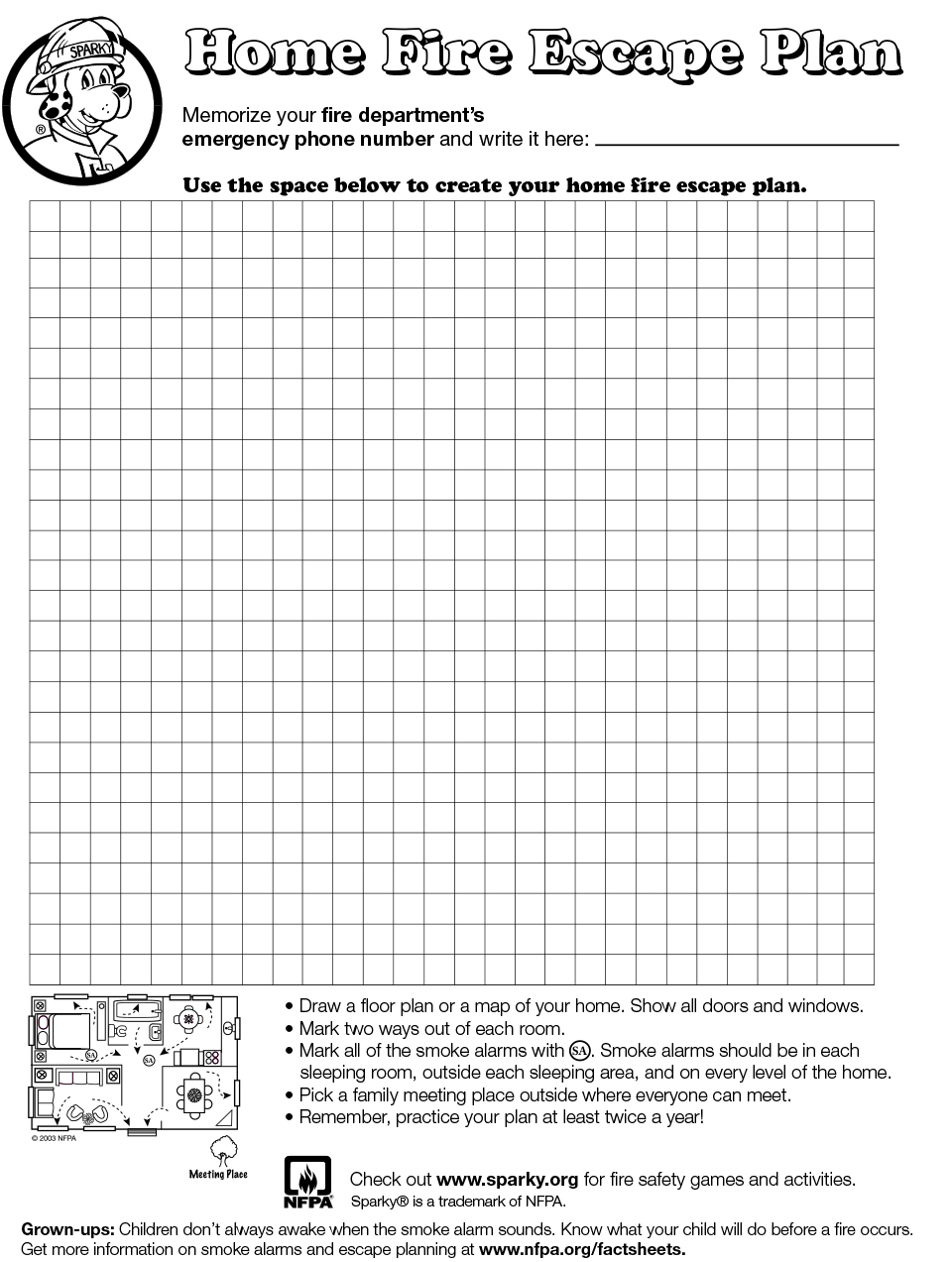 Fire Escape Plans Home Design